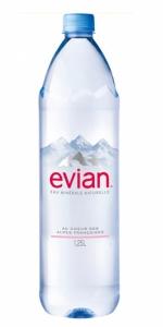 Evian 1.25 L. PET