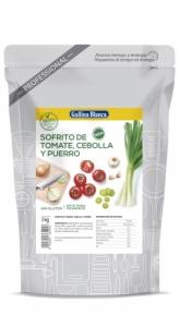 Sofrito de tomate, cebolla y puerro